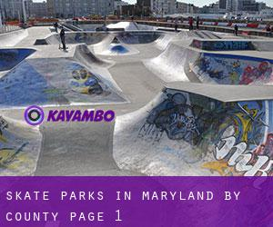 Skate Parks in Maryland by County - page 1